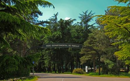 Le Parc départemental de Parilly